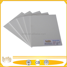 4*8 thin pvc celuka board, soft surface sheet for printing