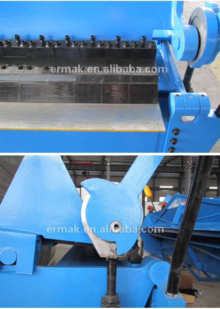 High Quality JG67 Metal sheet hand folding machine Stainless Steel Manual Edge Folding Machine