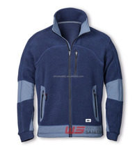 Winter softshell men polar fleece jacket