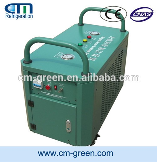 3 HP Commercial Refrigerant Oil Less Recovery Machine for R410A / R22 / R134A