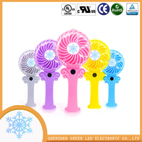 Best selling kids mini table fan with battery ,mini usb fan for phone on Beach