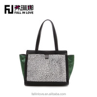 2015 new fashion women lady beautiful handbags women handbags in contrast color