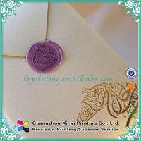 2014 Custom Paper Printing Marathi Wedding Card Matter