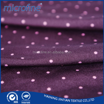 Custom printed thick 4 way 96 polyester 4 spandex wicking stretch fabrics for garment
