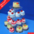 Wedding Cake Stand Hire / Cake And Cupcake Stand Heart Shape