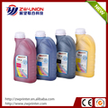 Good outdoor durability digital printer SK4 solvent 1 liter ink
