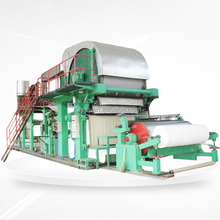 Fine Quality Toilet Tissue Paper Making Machine From Factory Price