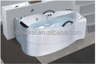 CLASIKAL bathroom bathtub,european design clear acrylic bathtubs