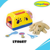 children doll house stuffed dogs play toys