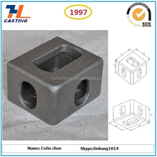 precision casting cast steel shipping container corner casting