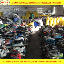 Guangzhou fairly used shoes for export Kenya import wholesale second hand football boots mixed used shoes in bales for sale