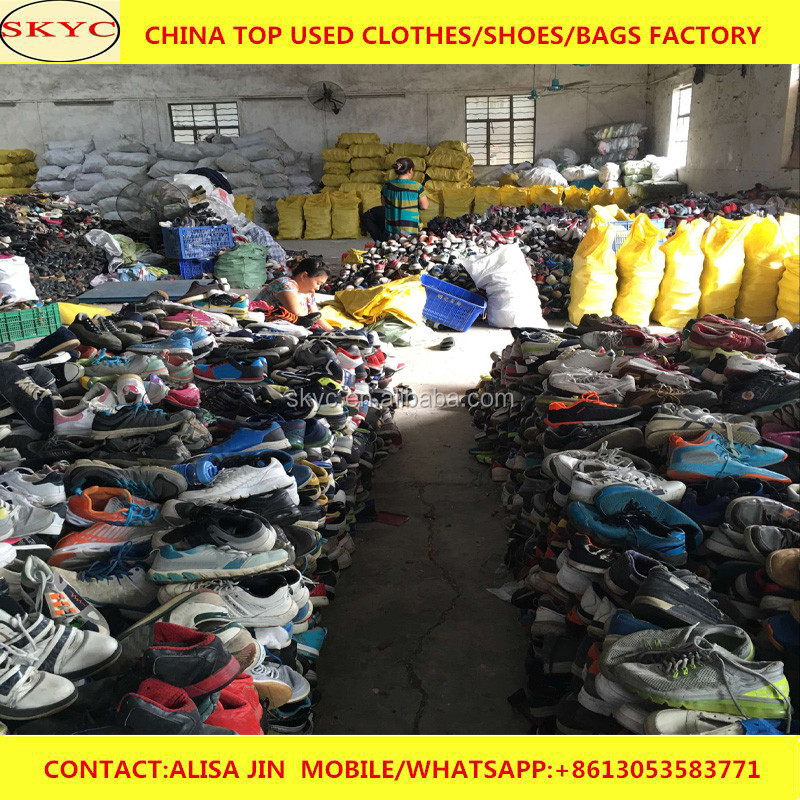 selling fairly used shoes in bales for sale in Kenya import wholesale second hand football boots mixed used shoes for export