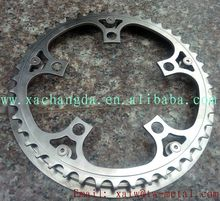 xacd made titanium chain ring protector titanium Integrated bicycle chain ring
