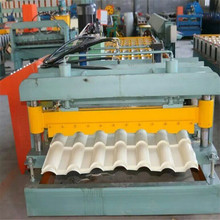 China Manufacturer High Quality Cheap Price glazed step tile roll forming machine for roof