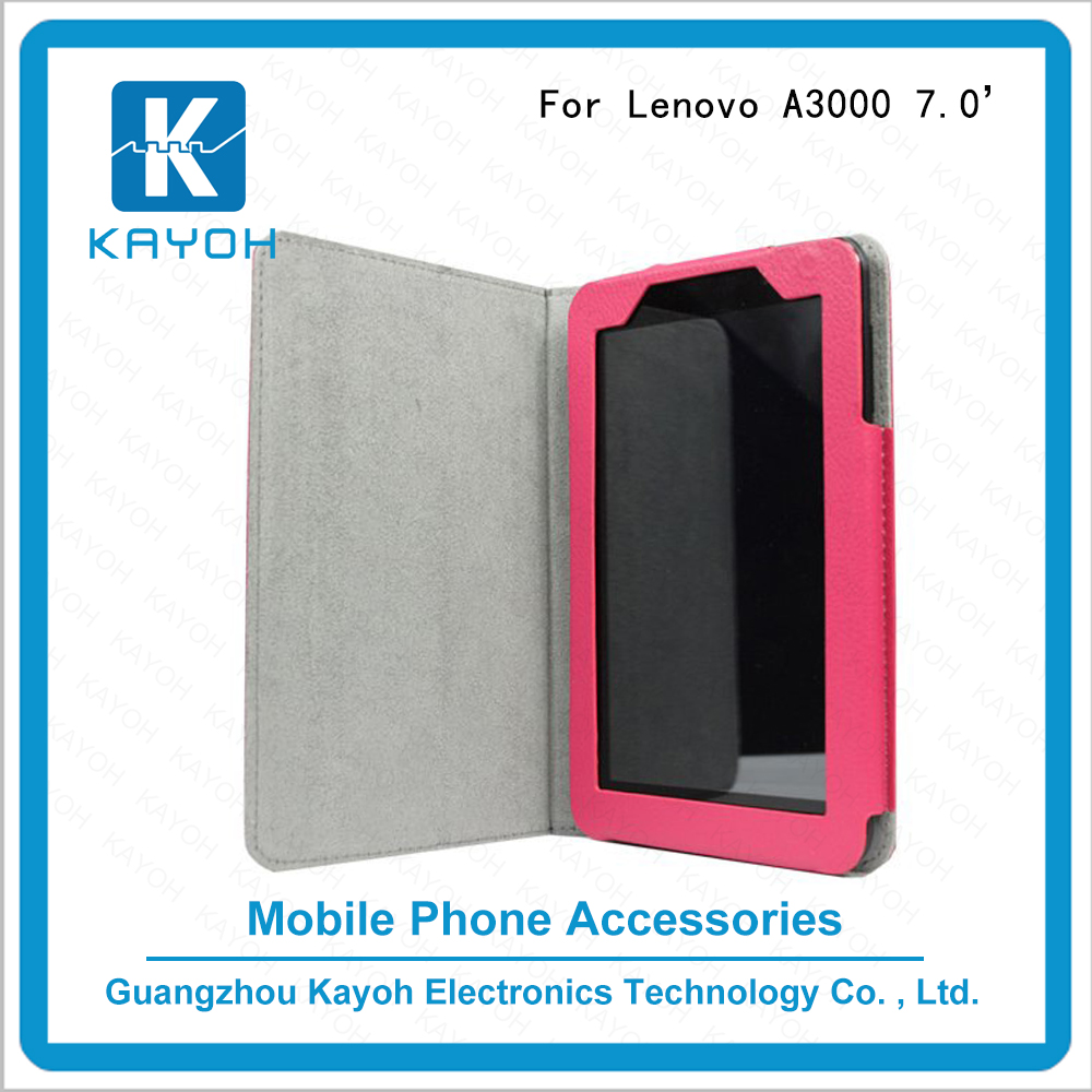 [kayoh]Tablet PU Leather Flip Protective Stand Cover Case for Lenovo A3000