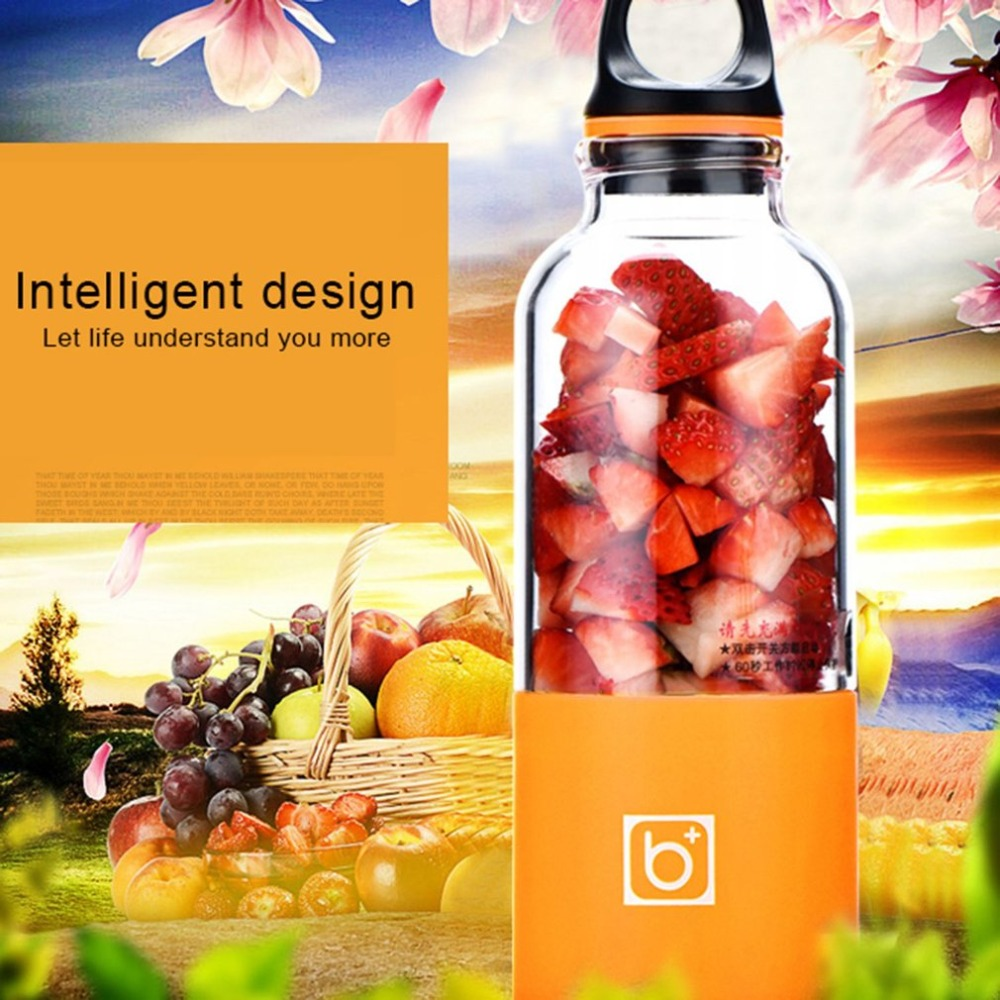 Wholesale Hot Mini Hand Shake Electrical Fruit Juicer Bottle Blender Cup for Making Juice