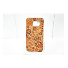 Manufacture Mobile Phone Case Accessories Handmade Wooden Phone Printed Corkwood Back Phone Case For Samsung