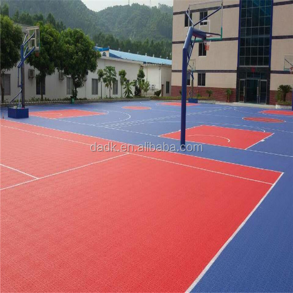 Removable Basketball Floor,PP sports flooring for basketball Court