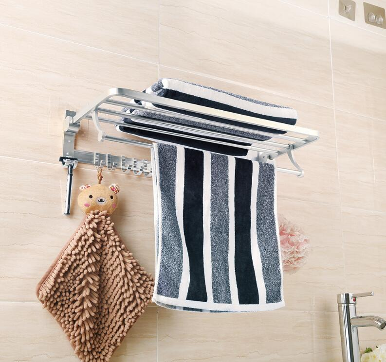 New product space aluminum bath towel rack 5101