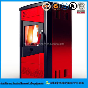 high efficient hydro pellet stove/ pellet boiler stove/ cast iron wood burning stove for sale