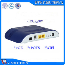 High cost-effective GPON WiFi ONU Fiber node HD Voice home gateway 2GE+1POTS+WiFi GPON ONT modem