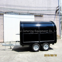 fast hot dog food trailer with ce for sale XR-FC300 D