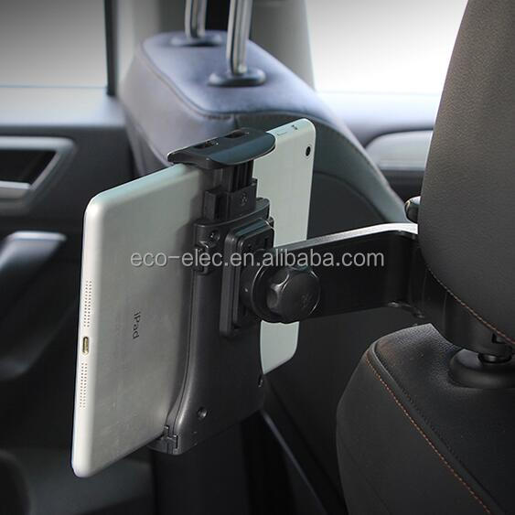 "New Design Vehicle Back Seat Headrest Mount For 4-10"" Smart Phone and Tablet PC GPS Universal Car Mount Holder"