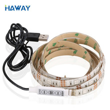 Waterproof 5v Usb Programmable 5050 Led Strip Light with Remote Control