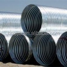 corrugated culvert pipe, semi circle pipe, china top ten selling products