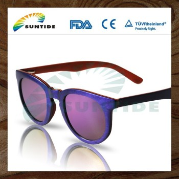 Laminated wooden sunglasses (WL90B)