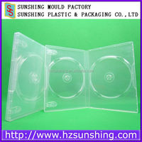 Automatic machine Cases Type and PP Material double sided dvd cases wholesale
