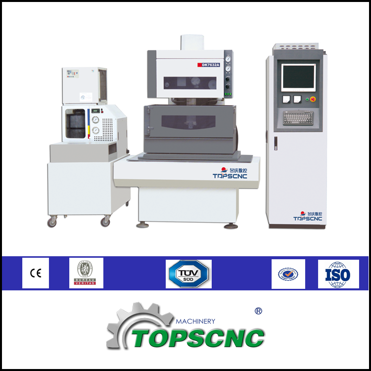 High Configuration CNC Brass Wire Cut EDM Machine Price