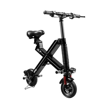 "new products electric folding bike 8"" hummer folding electric bike/scooter"