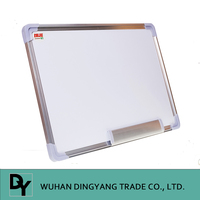 Aluminnum Frame Griding Magnetic Whiteboard with grid line