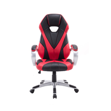Wholesale modern best-selling red genuine leather pc computer gaming racing chair