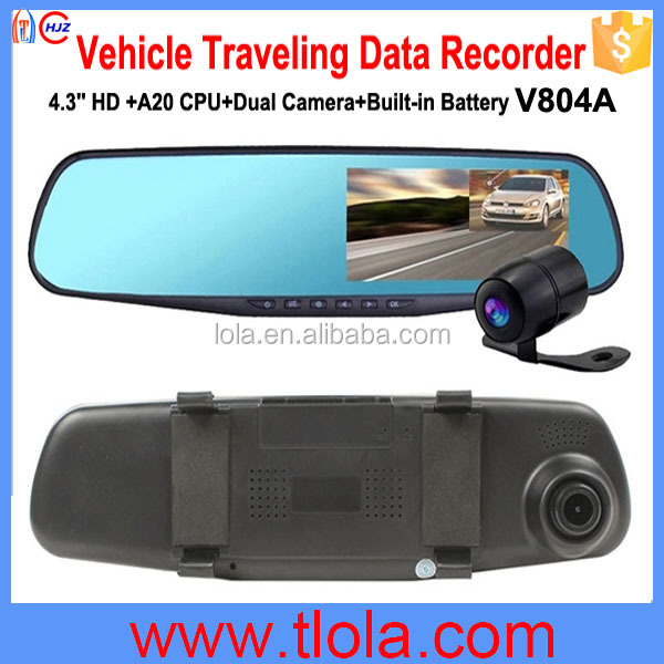 3.4 inch Screen 150 Degree4 Wide Angle Motion Detection HD 1080P Manual Car Camera <strong>Dvr</strong>