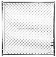 modular dog kennel panels by 50x50mm chain link fence with Tarpaulin