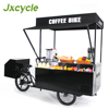 electric open food bike business for ice cream snack BBQ