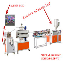 TPR single color rubber band making machine