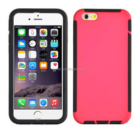 Mobile Phone Fully Body Clear Screen Protector Soft Tpu Pc Case For Iphone 6