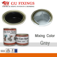 Strong adhesive economic two component ab black and white color epoxy resin glue for metal