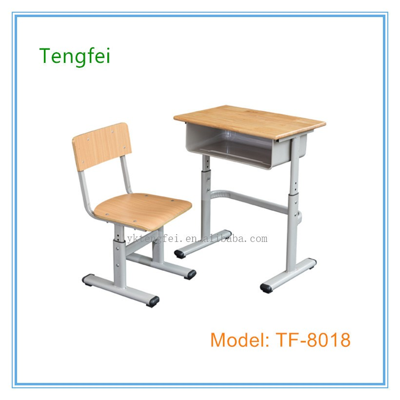 used school furniture student desk and chair for sale