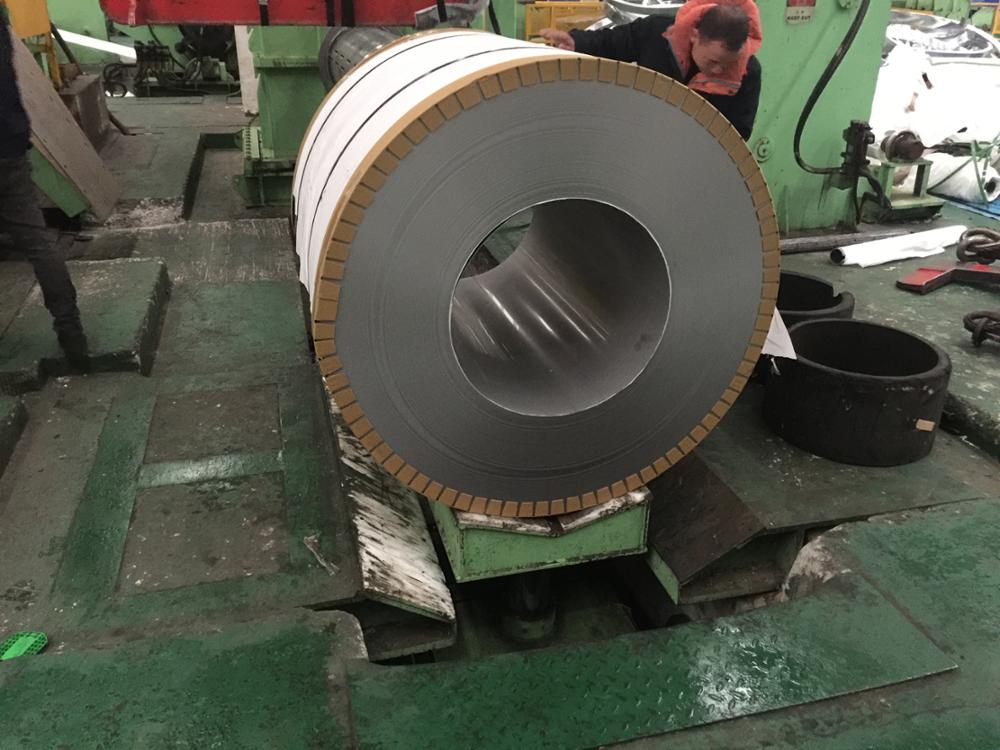 grade 420j2 stainless steel strip, hot and cold rolled, annealed, 2B and No.1 surface finish