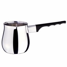 Update International 12 Oz. (Ounce) Turkish Coffee Decanter, Espresso Decanter, Stainless Steel Pitche
