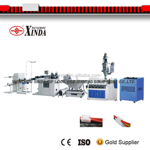 zipper extruder making machine