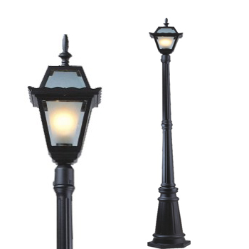 cast iron garden lamps