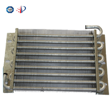 Aluminum condensers for the motorcycle tank