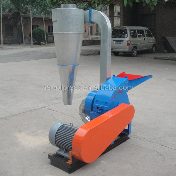 Small wood hammer mill crusher with high efficiency