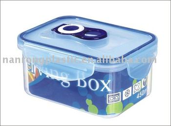 0.45L vacuum plastic food container