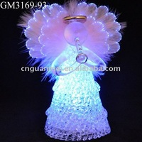 fiber optical angel with LED light